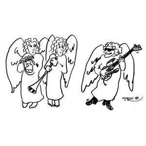 angel_guitar_cartoons_kunst_musik_tuerosenkjaer_glnr4