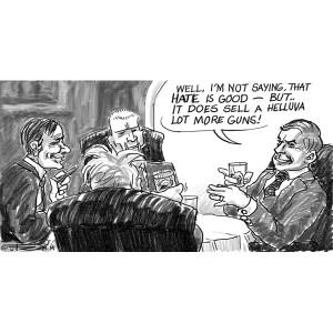 guns_and_hate_cartoons_politik_tuerosenkjaer_nr6