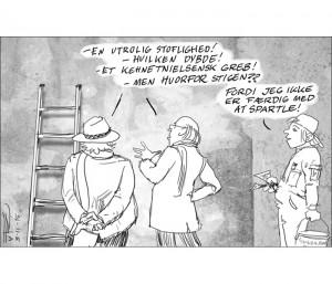 væggen_kunstsnobber_cartoons_kunst_tuerosenkjaer_nr2