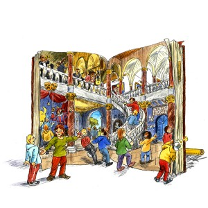 bogen_aabning_til_verdenen_eventyr_illustrationer_skole_tuerosenkjaer